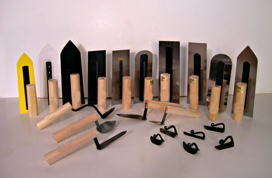 Japanese trowels